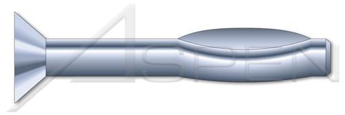 "3/16"" X 3"" Split Drive Anchors, Flat Countersunk Head, High Alloy Steel, Zinc"