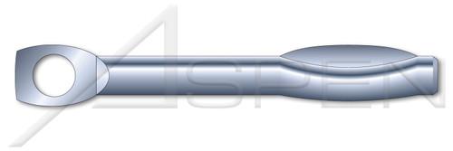 "1/4"" X 1-3/4"" Split Drive Anchors, Tie Wire Head, High Alloy Steel, Zinc"
