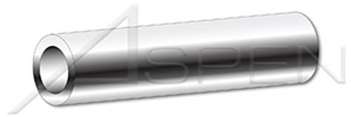 """#14 X 3/4"""", ID=0.252"""" Round Spacers, 1/2"""" Diameter, Stainless Steel"""