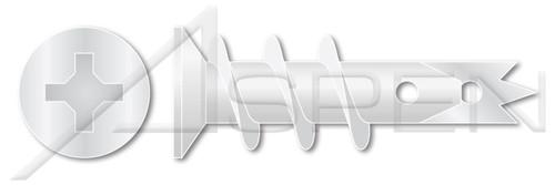 #8 One Step Wallboard Anchors, Nylon