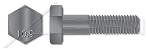 M24-3.0 X 140mm DIN 6914 / ISO 7412, Metric, Heavy Structural Hex Bolts, Class 10.9 Steel, Galvanized
