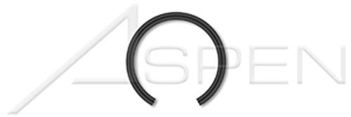 M35 DIN 7993B, Metric, Internal Snap Rings, Spring Steel