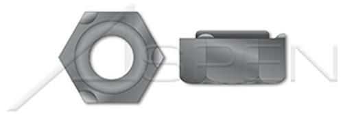 M8-1.25 DIN 929, Metric, Hex Weld Nuts, Steel, Plain
