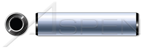 M8 X 45mm DIN 7979-D / ISO 8735A, Metric, Pull Dowel Pins, Internal Threading, Steel