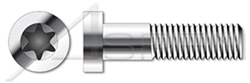 M8-1.25 X 35mm ISO 14580, Metric, Low Head 6-Lobe Socket Cap Screws, A2 Stainless Steel