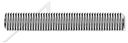 M10-1.5 X 180mm DIN 976-1, Metric, Studs, Full Thread, A2 Stainless Steel