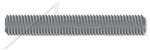 """7/8""""-9 X 4"""" B7 Studs, Full Thread, Grade B7 Alloy Steel, Alloy Steel, Plain"""