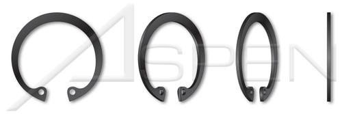 """0.250"""" Internal Retaining Rings, SAE 1060-1090 Carbon Steel, Phosphate Coated"""