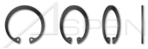 """0.312"""" Internal Retaining Rings, SAE 1060-1090 Carbon Steel, Phosphate Coated"""