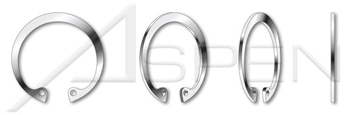 15-7 Mo Stainless Steel E-Retaining Rings 0.140 500 pcs