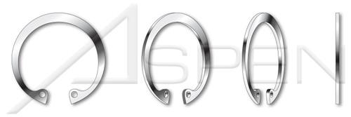"0.375"" Internal Retaining Rings, 15-7 Mo Stainless Steel"