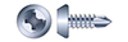 "#7 X 7/16"" Framing Screws, Pan Phillips Drive, Fine Thread, Steel, Zinc Plated"