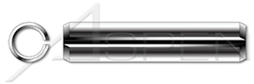 """1/16"""" X 1/2"""" Slotted Spring Pins, AISI 420 Stainless Steel"""