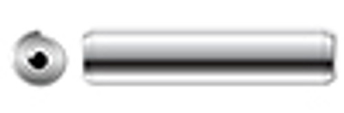 """1/16"""" X 1/2"""" Rolled Spring Pins, AISI 420 Stainless Steel"""