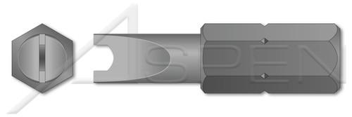 """1/4"""" Insert Bits, Tamper-Resistant Drilled Spanner Drive"""