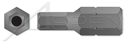 "7/32"" Insert Bits, Tamper-Resistant Hex Socket Pin Drive"