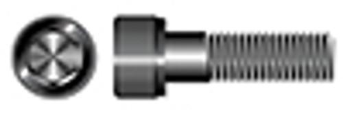 "#0-80 X 1/4"" Hex Socket Head Cap Screws, Alloy Steel, Plain, Unbrako"