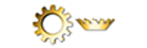 #10 Tooth Lock Washers, Countersunk External, Steel, Yellow Zinc