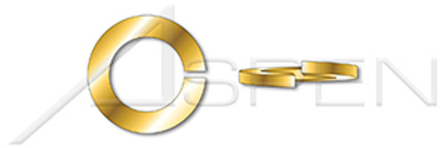 #10 Helical Spring Lock Washers, Light Split, Silicon Bronze