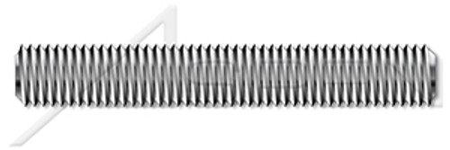 M52-5.0 X 1m DIN 976-1, Metric, Studs, Full Thread, A4 Stainless Steel