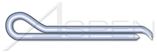 "7/32"" X 1-1/2"" Hammerlock Cotter Pins, Steel, Zinc Plated"