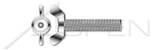 M10-1.5 X 16mm DIN 316, Metric, Wing Screws, German Style, Full Thread, A4 Stainless Steel