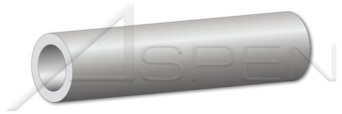 """#10 X 1"""" Round Spacers, 5/16"""" Diameter, Aluminum Alloy # 2011"""