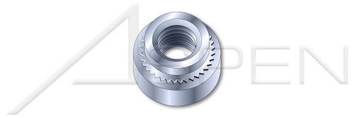 "5/16""-18 X 0.120"" Self-Clinching Nuts, Steel, Zinc Plated"