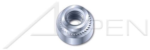 "5/16""-24 X 0.087"" Self-Clinching Nuts, Steel, Zinc Plated"