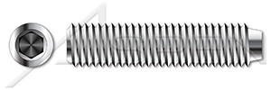 #10-32 Socket Set Screws Cup Point 316 Stainless Steel #10-32 x 1 Qty 25