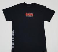 Big Dog Motorcycles V-Twin Black T-Shirt - X-Large