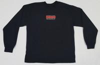Vintage Logo Black Long Sleeve T-Shirt - Large