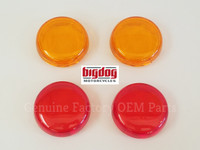 Front & Rear Turn Signal Lenses (2003-04) SET