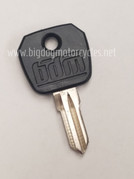 Big Dog Motorcycles Factory OEM Key Replacement - Blank w/ Logo
