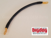 "Gold Plated Negative 11"" Battery Cable (K-9 / Mastiff / Bulldog)"