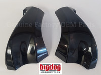Big Dog Motorcycles OEM Electrical Tray Side Covers (2005-07 Pitbull, Ridgeback)