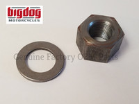 Transmission Shaft Nut & Washer - 2005-11