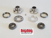 Big Dog OEM Neck Cups & Fork Stop Kit - 2005-11 Chopper, Ridgeback, Pitbull, K-9