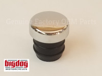 Chrome Oil Tank Fill Cap Plug (push in) - 1999-2004