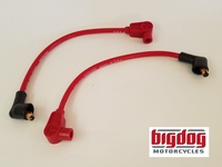 Spark Plug Ignition Wires - 2003-11 ALL MODELS (Red)