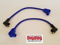 Spark Plug Ignition Wires - 2003-11 ALL MODELS (Blue)