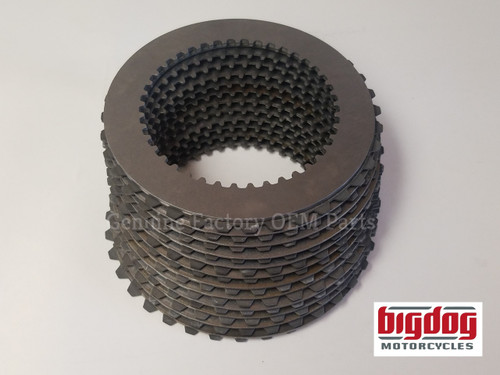 Big Dog Motorcycles Replacement Clutch Pack - 2005-07 - 12 Disc