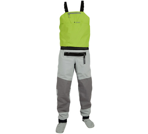 Whirlpool Bib w/ Relief Zipper and Socks (Hydrus 3.0)