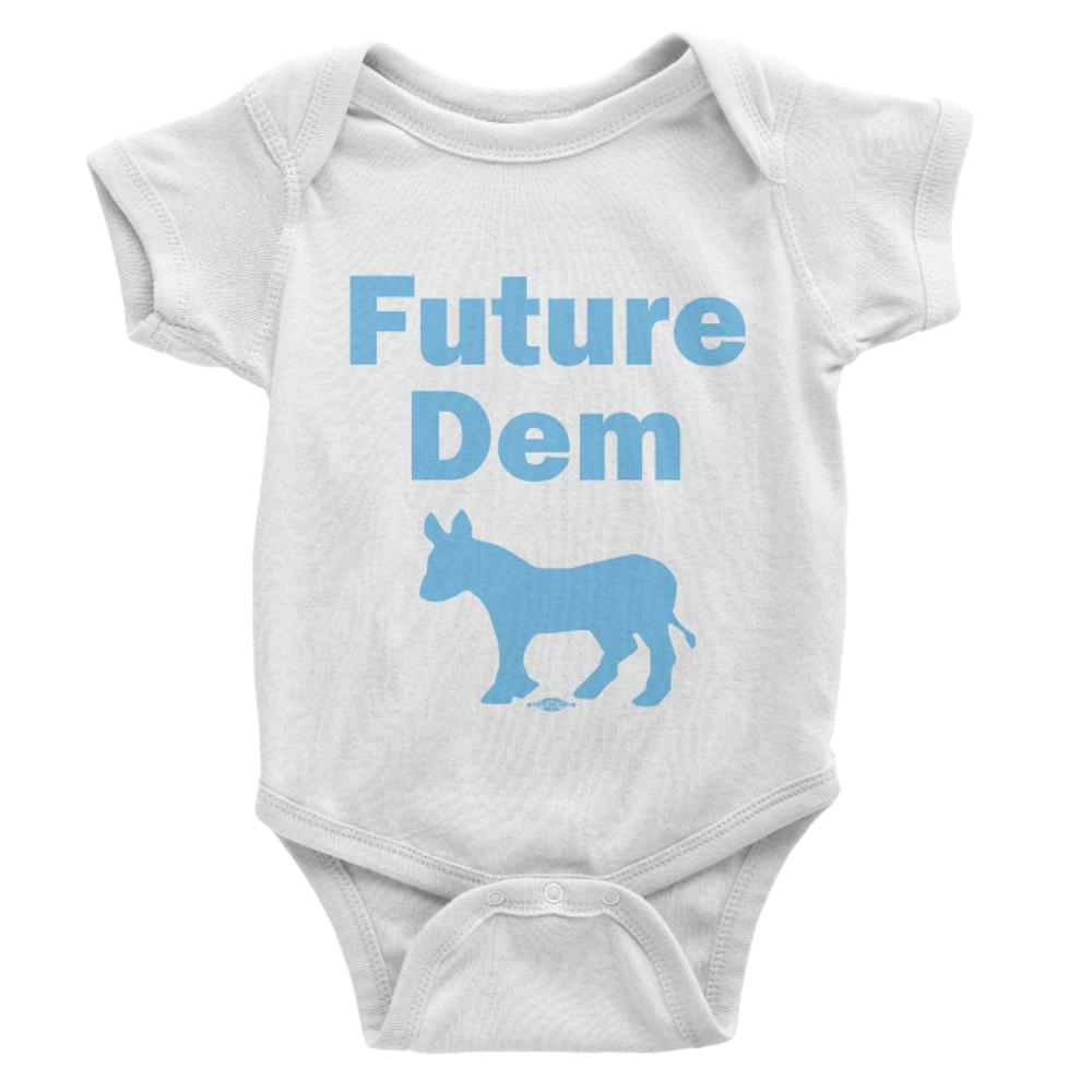 Future Dem (Unisex White Onesie)