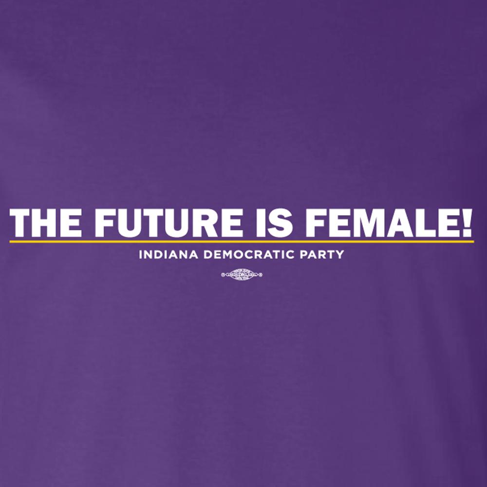 The Future Is Female (unisex Purple Tee)