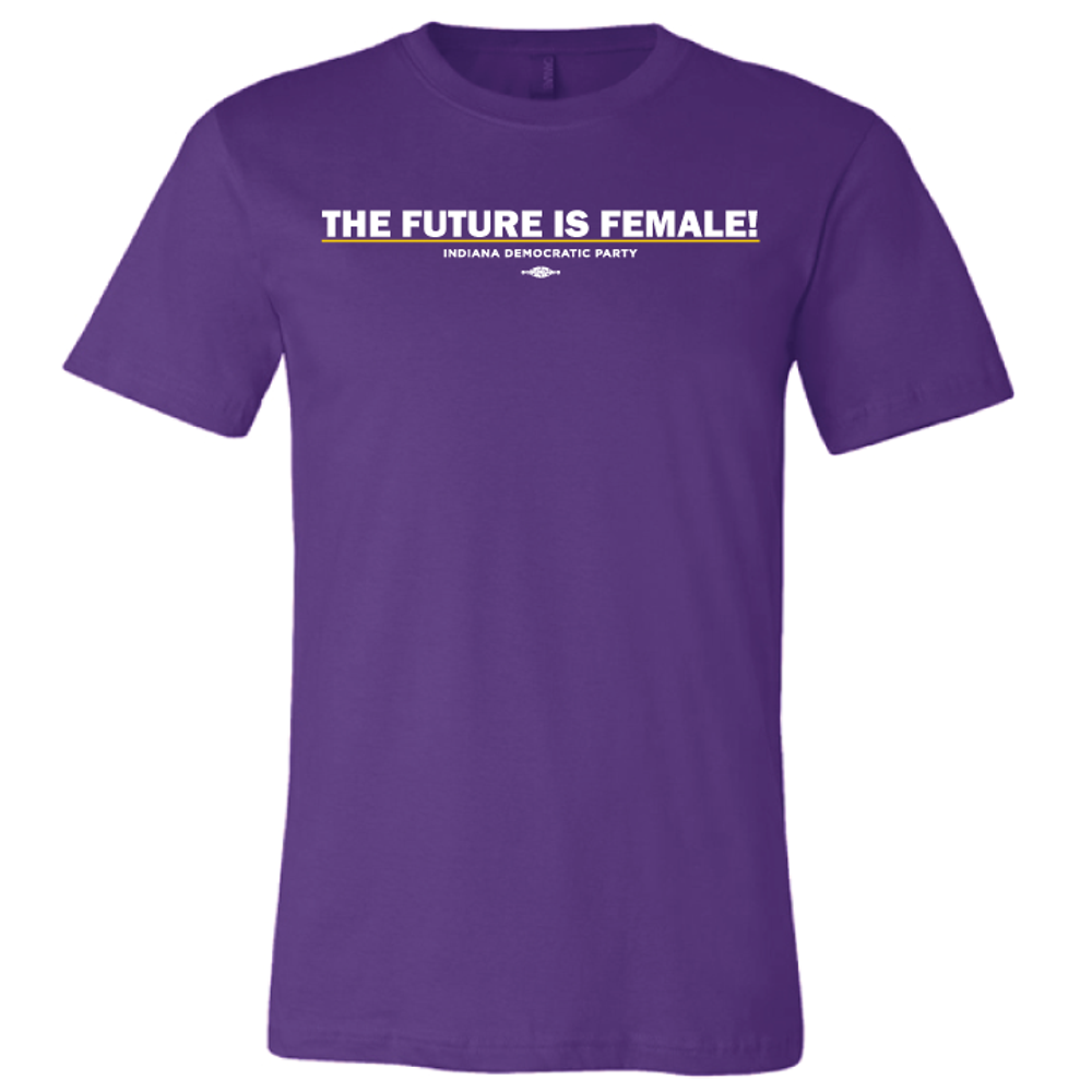 The Future Is Female (unisex Purple Tee)