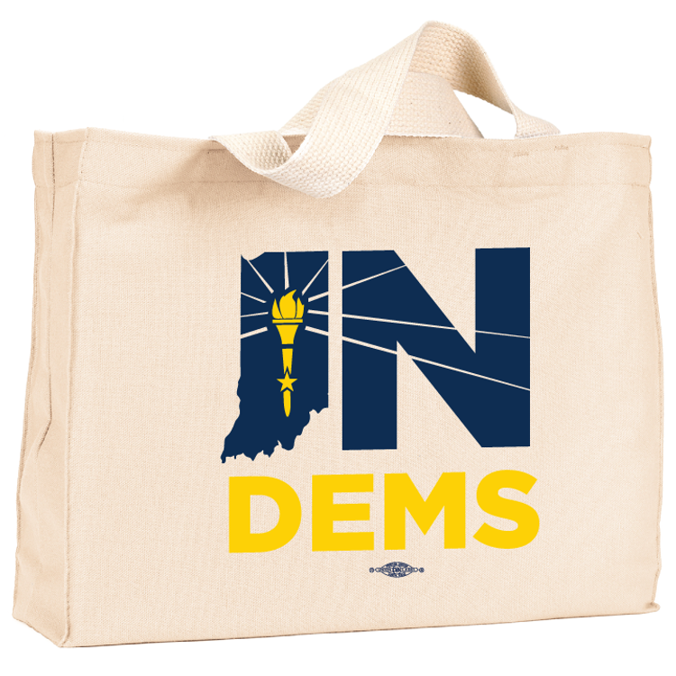INDems Natural Canvas Tote