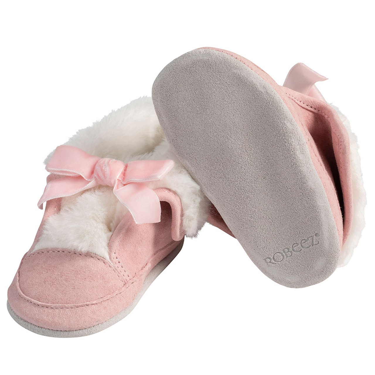 Pink Willa Boots | Soft Soles | Baby