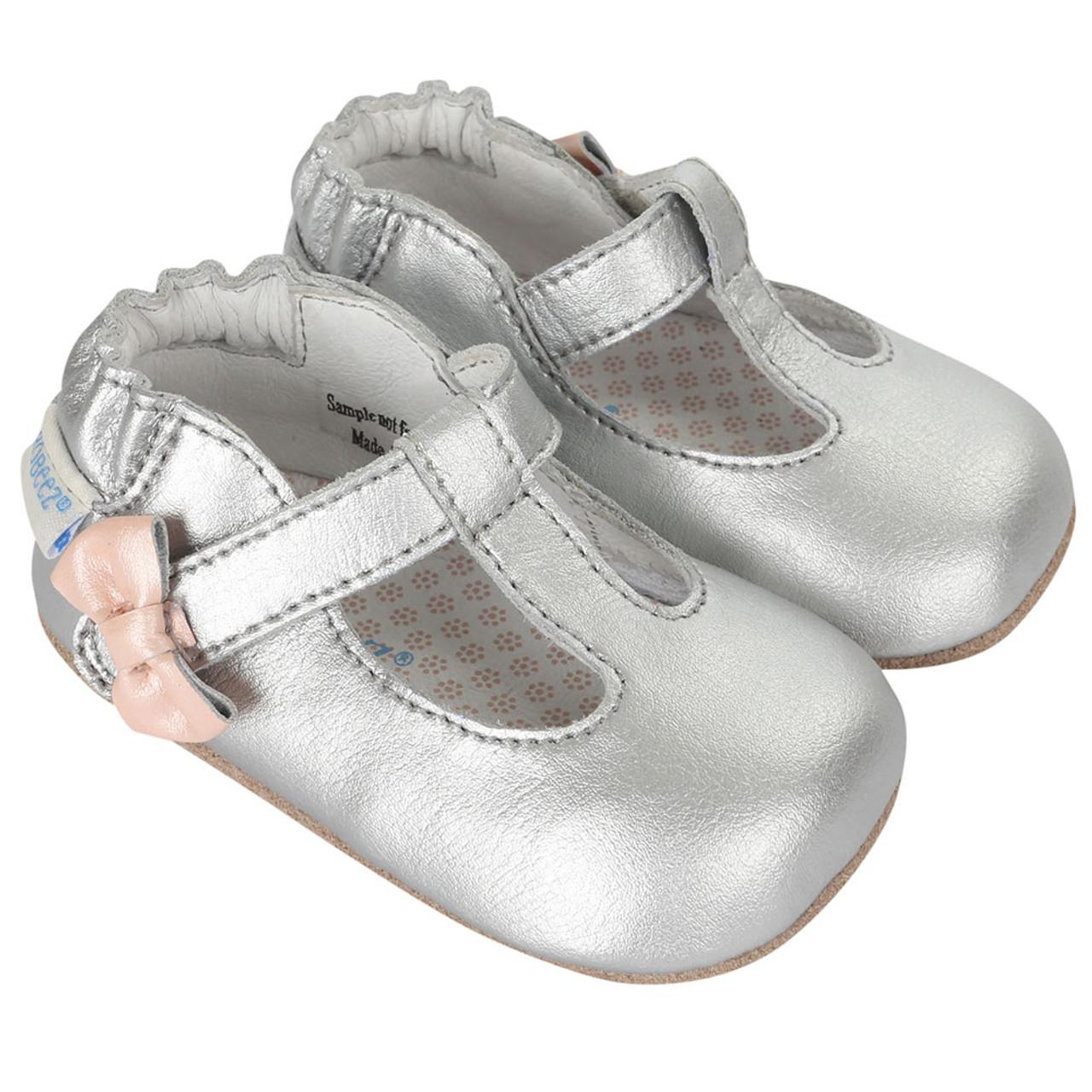 117c3a0f0af Robeez Teagan s Tee Strap Mini Shoez - Angle
