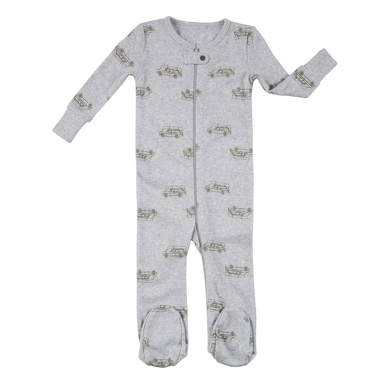 Robeez Adventure Footed Sleeper - Front c48960b81